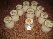 Mousse arroz leche