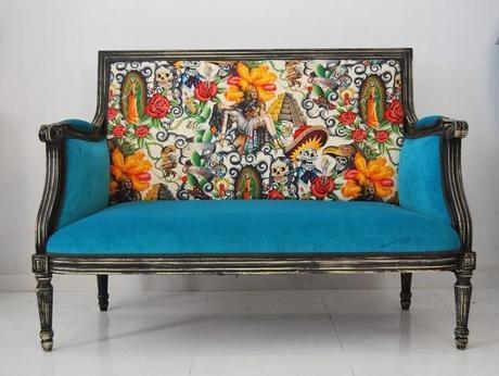 Una buena idea dale vida a tus muebles antiguos con la t - Recuperar muebles viejos ...