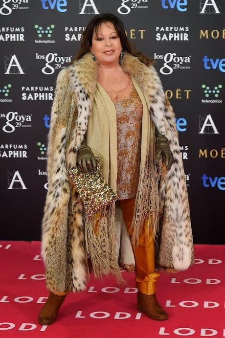 Massiel, Premios Goya 2015, Peor vestida