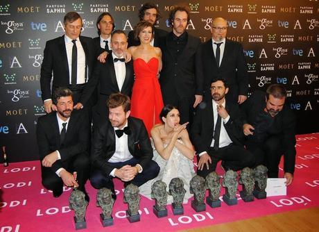 Ganadores de los Goya 2015
