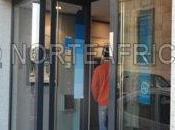 Banco BBVA Melilla discrimina personas mayores discapacitados barreras arquitectónicas