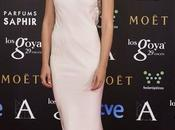 Goya 2015 elegante alfombra rosa para...