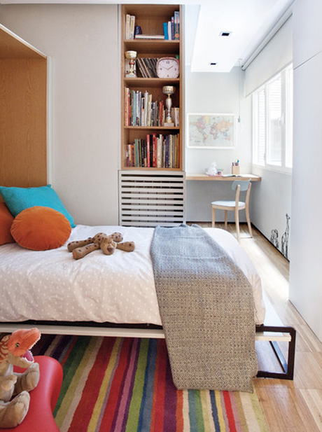 CASA  |  Un piso donde se unen estilos y estancias.
