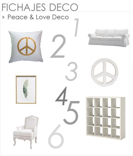 Inspiración Deco: Peace &  Love en Argentina