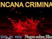 YINCANA CRIMINAL tinta vena Negro sobre blanco