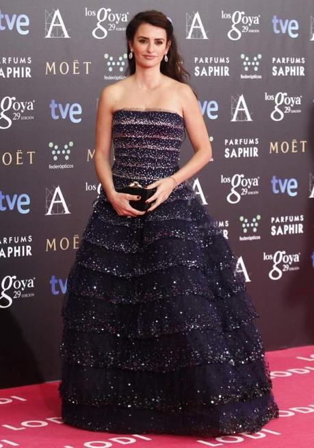 Los Vestidos de los Goya 2015