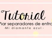 Diseñar separadores para entradas blogger