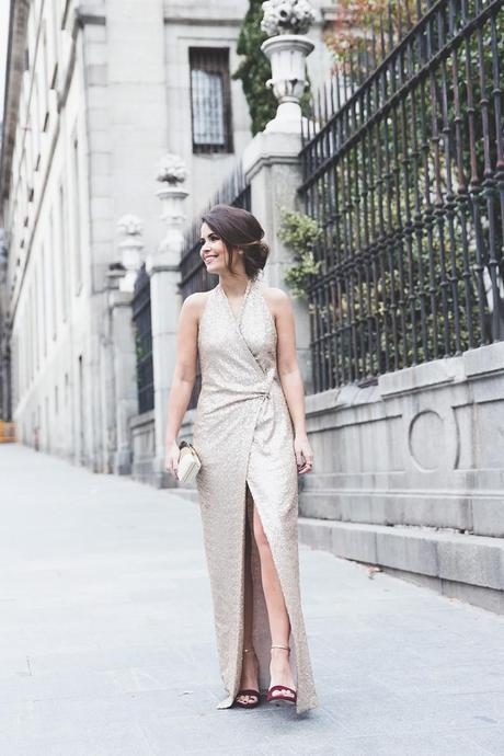 Los_Goya_2015-Alfombra_Lodi-Vestido_Lentejuelas-Outfit-Sequined_Maxi_Dress-Street_Style-4