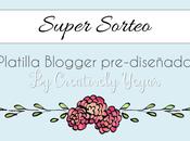 Sorteo Plantilla pre-diseñada Blogger