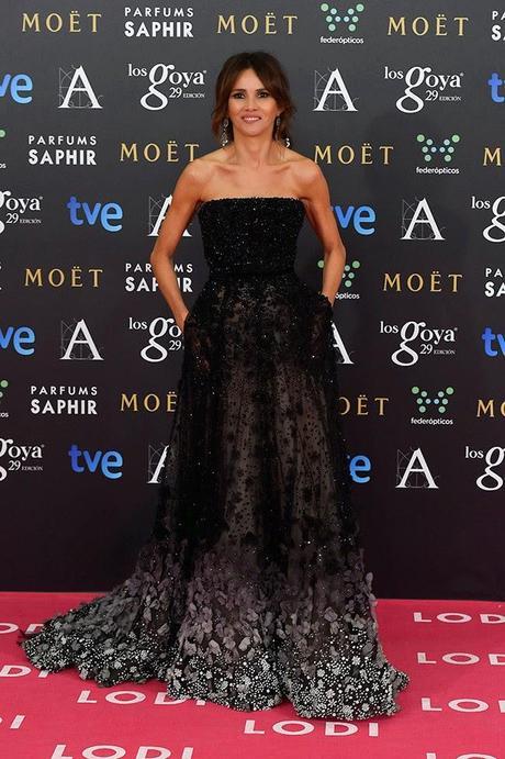 Goya toledo mejor vestida goya 2015