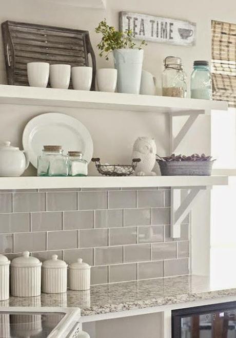 Ideas deco diversas opciones de subway tile para decorar for Idea deco para cocina gris