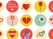 packs iconos gratis para Valentín