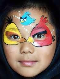 Carnaval maquillajes para los peques!