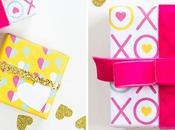 Imprimible: Postal, papel regalo guirnalda Valentín