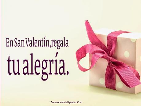 En San Valentín regala alegría