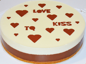 Tarta Blanco Negro Valentín