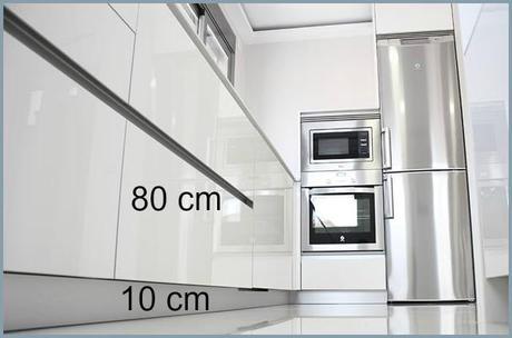 Altura mueble cocina best armario bajo para horno with altura mueble cocina top altura mueble - Altura encimera cocina ...
