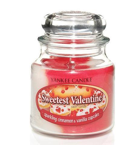 El San Valentín más dulce con esta vela de Yankee Candle.