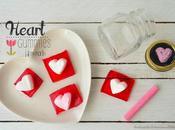 Gomitas corazón para Valentin