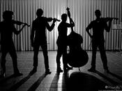 Noches música gymage theater, viernes, febrero, cuerdas sueltas