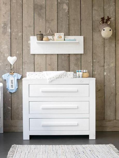 Dormitorios infantiles en blanco y madera paperblog - Dormitorios en blanco y madera ...