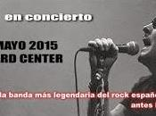 Concierto especial aniversario Burning mayo BarclayCard Center Madrid