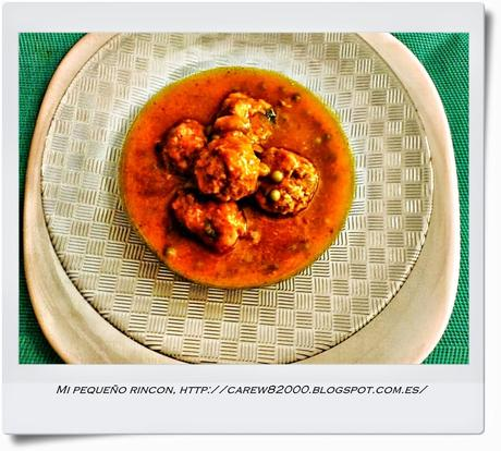 Albondigas con salsa de zanahorias paperblog for Utensilios de cocina turca