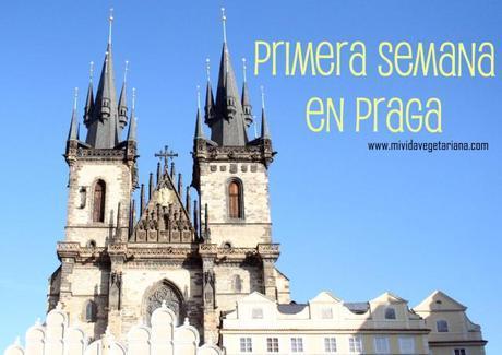 Primera semana de Erasmus en Praga