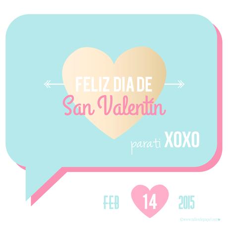 San Valentín! Comparte tu amor con estás postales con frases para el día del amor!