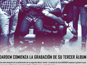 Dardem comienza grabacion tercer album, bajo producción manuel colmenero javibu carretero estudios sonobox