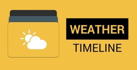 Weather Timeline - Forecast V1.3.9 Requisitos: 4.0 y hasta