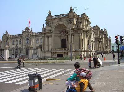 Palacio de Gobierno de Lima, Perú, La vuelta al mundo de Asun y Ricardo, round the world, mundoporlibre.com