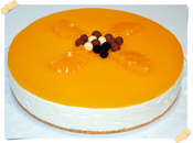 Cheesecake Naranja