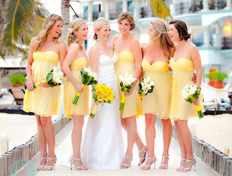 los más bellos vestidos para damas de una boda - paperblog