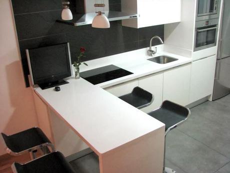 Los muebles de cocina ese gran sue o paperblog - Encimera cuarzo ikea ...