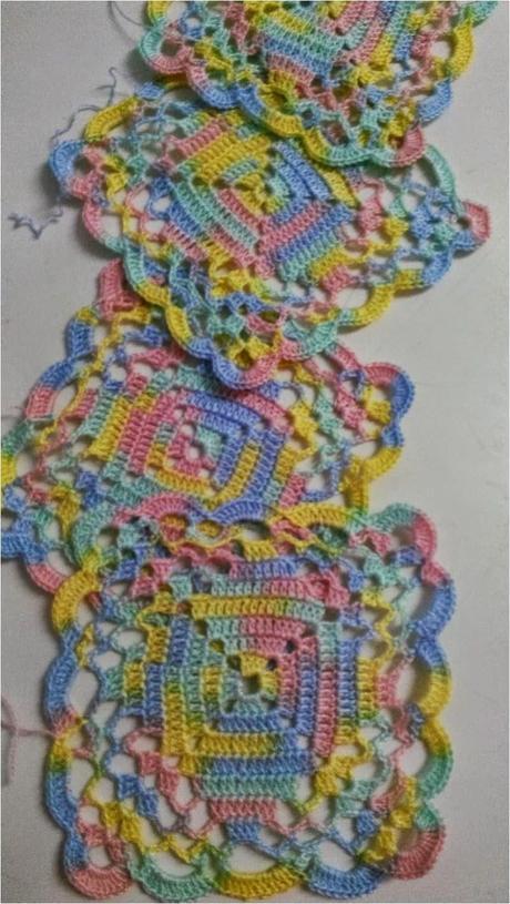 Cómo uno cuadros o granny , motivos cuadrados de crochet tips (How ...
