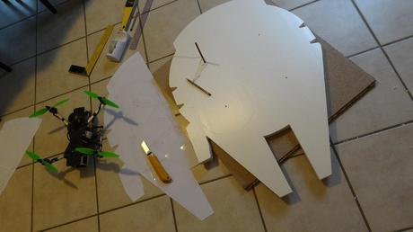Dron Halcón Cómo Fabricar Paperblog Milenario Tu Propio w0PnOk
