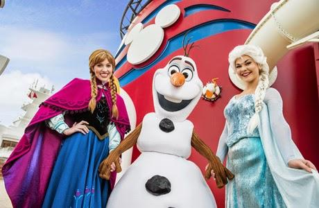 Frozen, Disney Magic, Disney Wonder