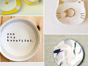 Etsy Finds #87. Platos como joyero/ Jewelry dishes