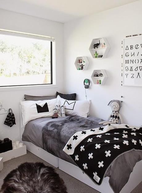 Ideas deco habitaciones infantiles de estilo n rdico para for Ideas deco estilo