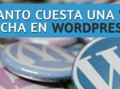 Presupuesto para hacer página WordPress