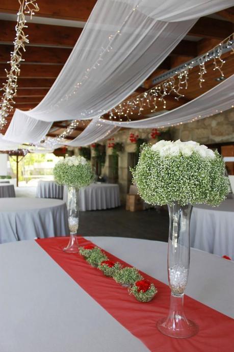 Ambientaci n de bodas con iluminaci n y telas paperblog for Ambientacion para bodas