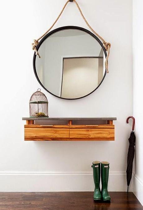 Espejos redondos en el feng shui paperblog for Espejo redondo recibidor