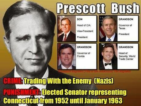 PRESCOTT BUSH AYUDO AL ASCENSO DE ADOLF HITLER