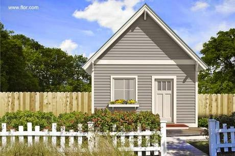 45 fachadas de casas peque as paperblog for Fachadas de casas pequenas de una planta