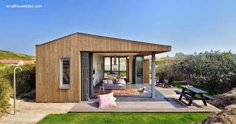 45 fachadas de casas peque as paperblog for Modern house holiday lets