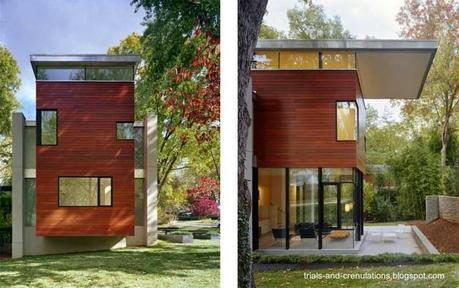 45 fachadas de casas peque as paperblog for Casas reducidas