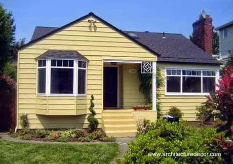 45 fachadas de casas peque as paperblog for Fachadas frontales de casas