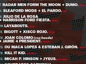 Sound Isidro 2015, cartel interesante