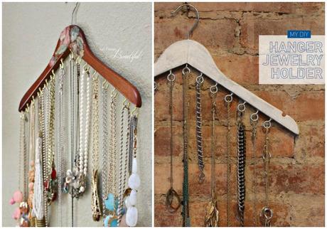 Diy perchas paperblog for Porta ganchos de ropa
